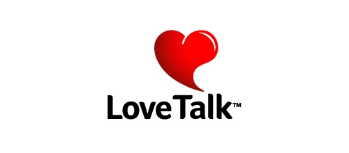 Love Talk logo designs