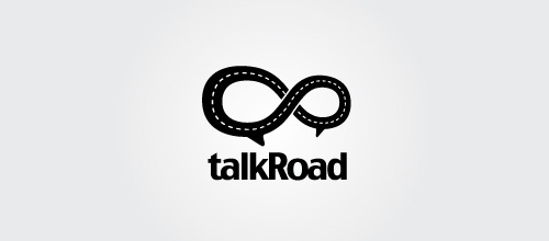 talkRoad logo designs