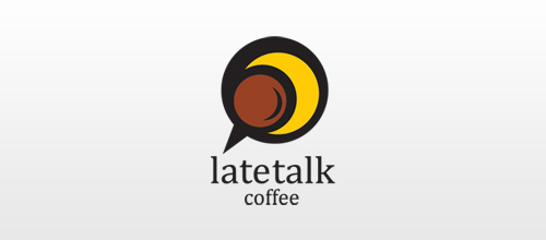 LateTalk logo designs