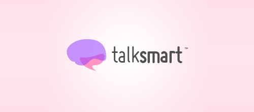 talksmart logo designs