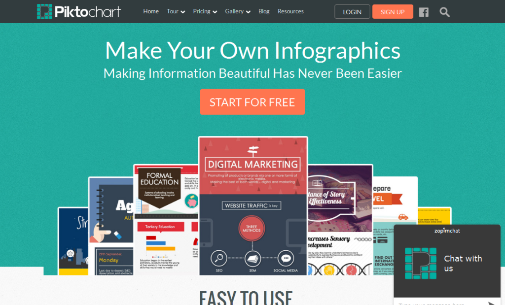 Create Easy Infographics, Reports, Presentations I Piktochart