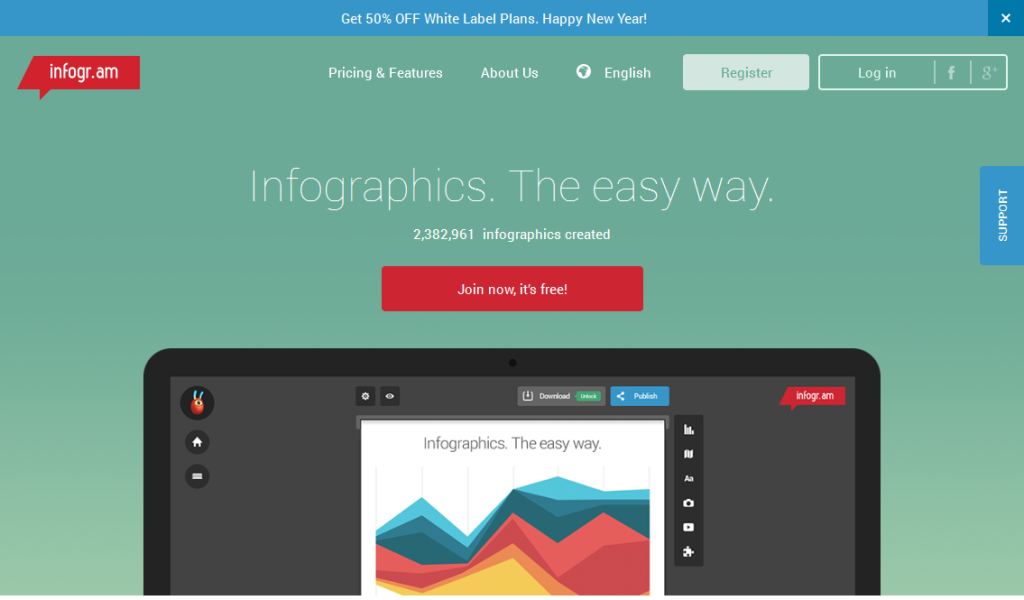 Create infographics & online charts I infogr_am
