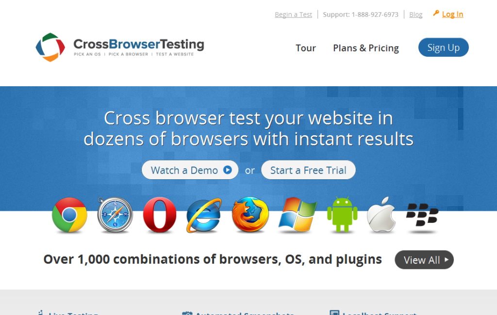 Cross Browser Testing_ Real mobile devices & browsers!
