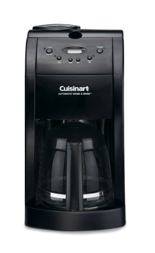 Cuisinart DGB-475BK Grind & Brew 10-Cup Automatic Coffeemaker, Black