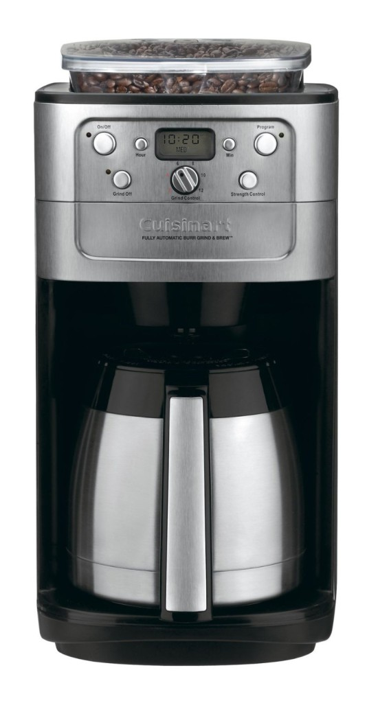 Cuisinart DGB-900BC Grind & Brew Thermal 12-Cup Automatic Coffeemaker, Brushed StainlessBlack