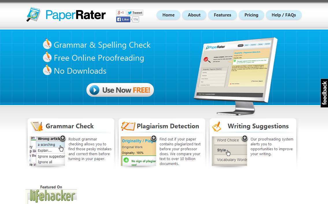 Checking Essay Grammar Free Online Grammar Check Plagiarism Spelling And More I PaperRater Index?id