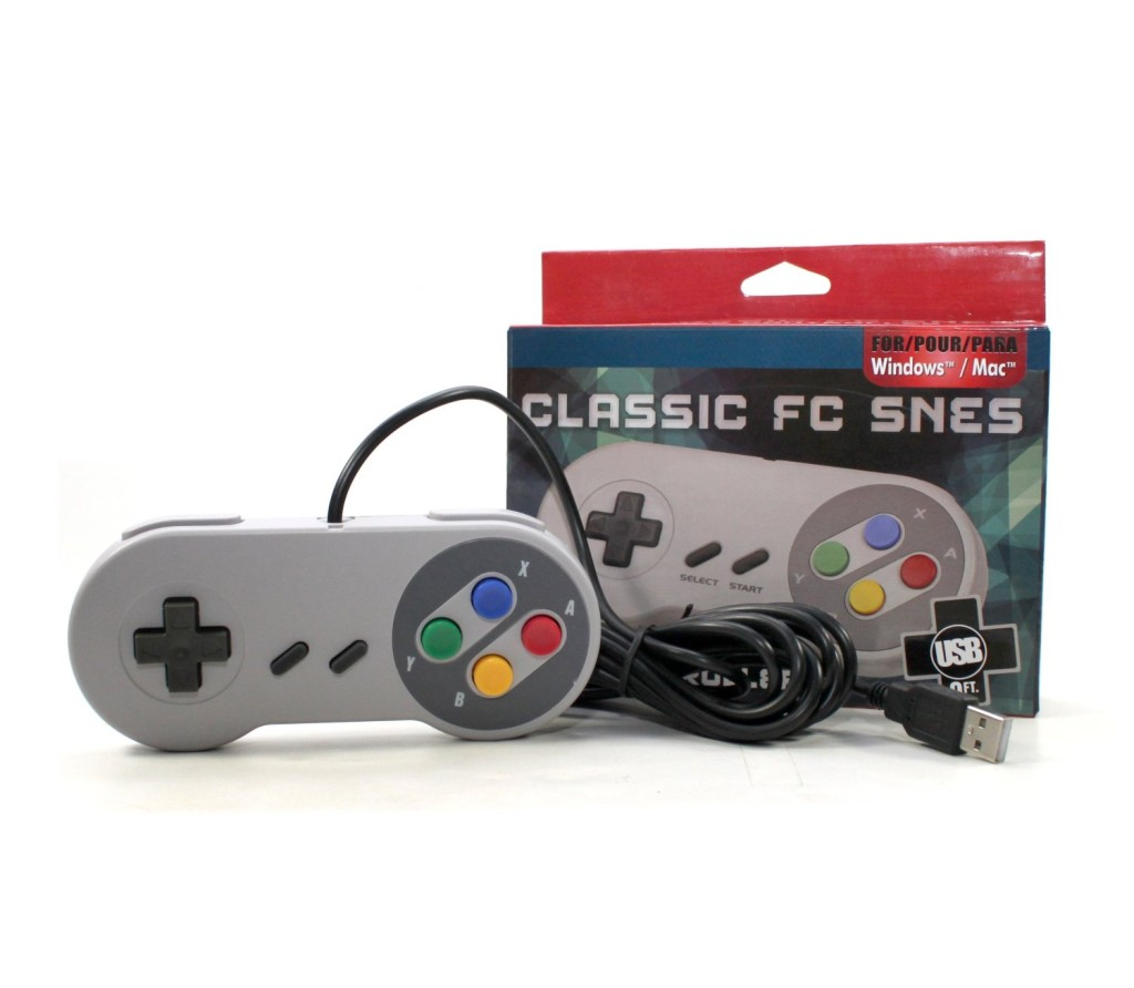 Gtron Retro USB Super Classic Controller For PC Mac