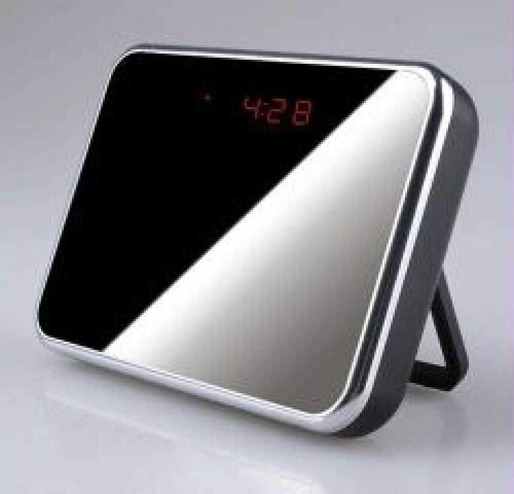 Hidden Camera Digital Alarm Clock