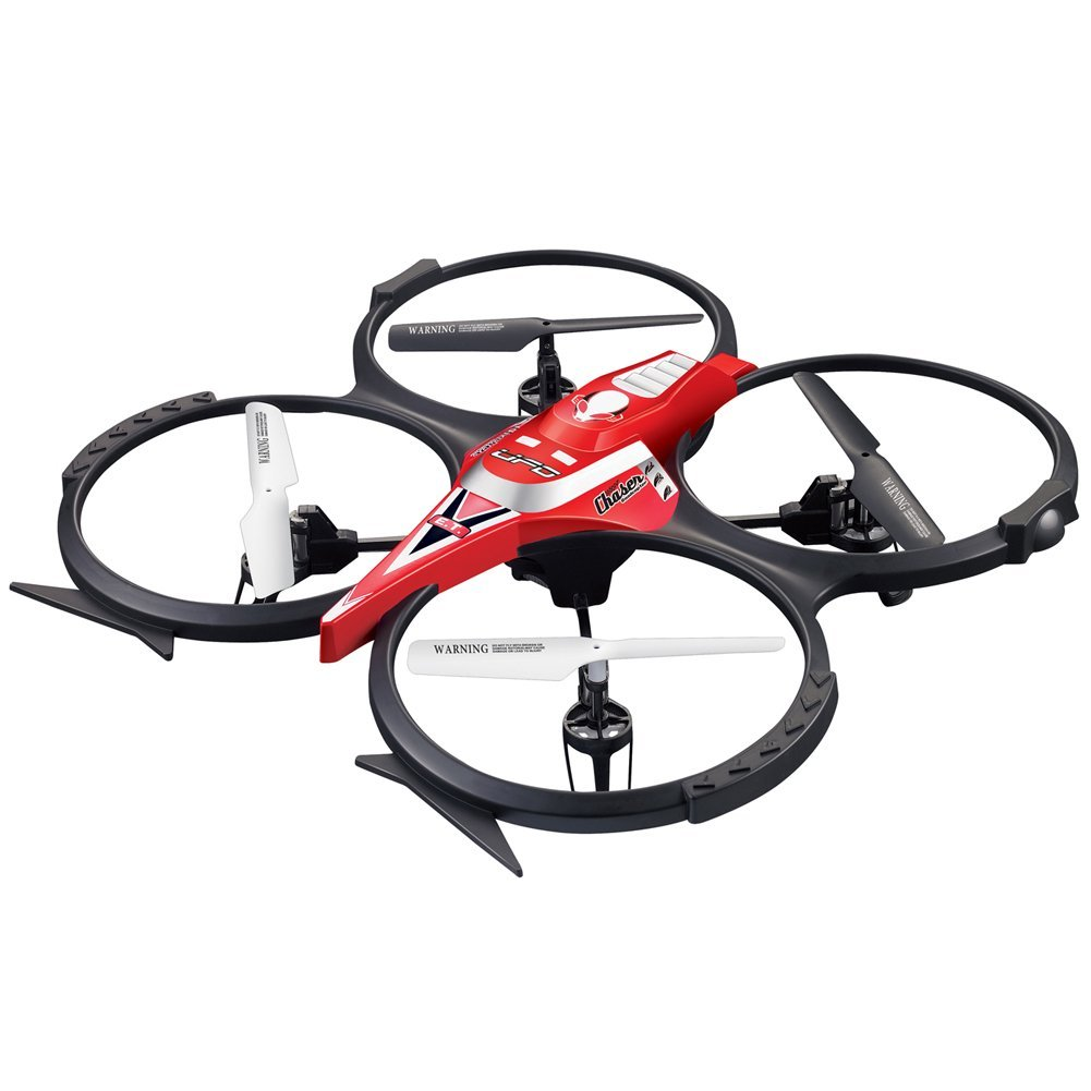 Holy Stone UFO RC Drone with Camera,3D Flight and 360° Flips, 2.4GHz 6 Axis RC Quadcopter,2G TF Card