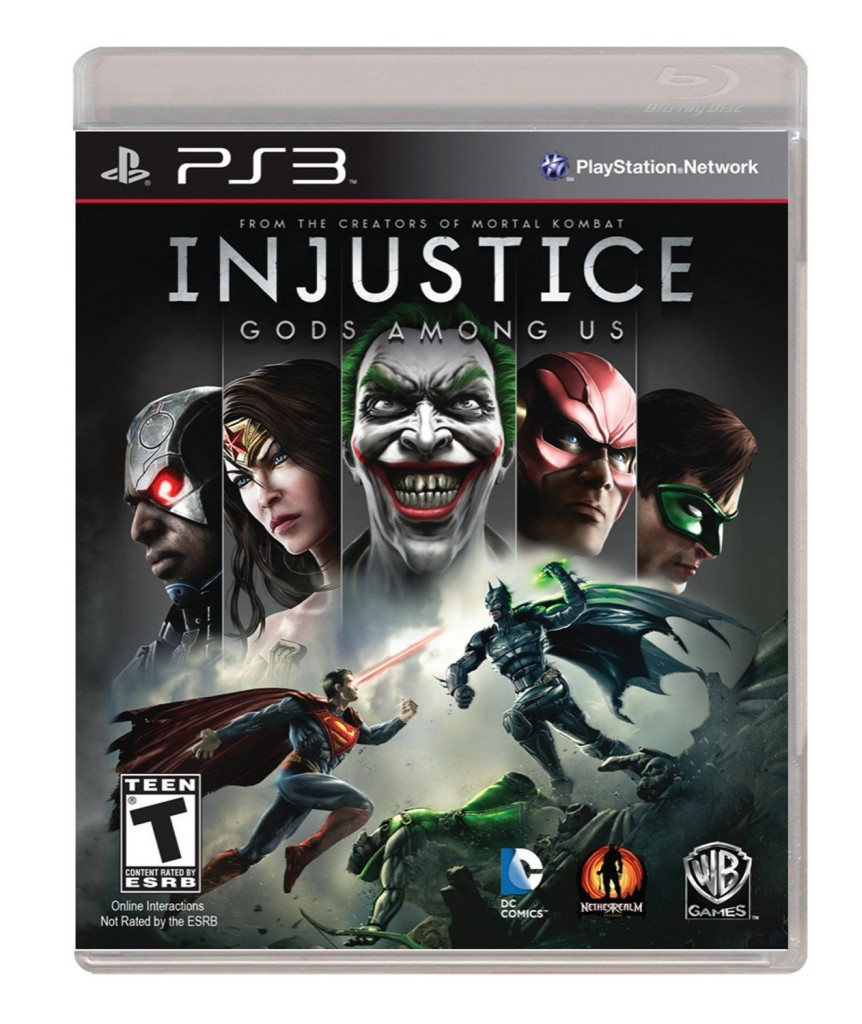 Injustice Gods Among Us - Playstation 3