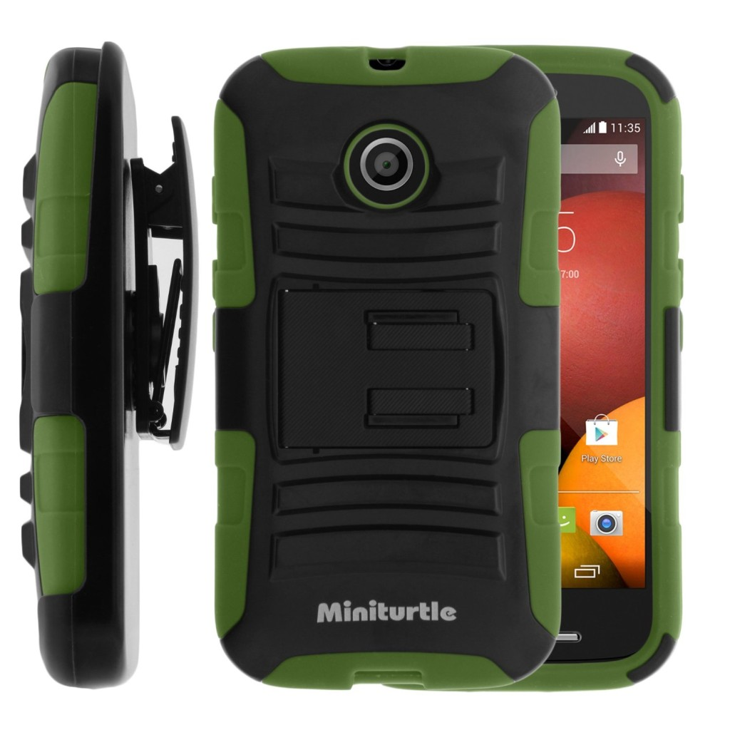 MINITURTLE, 2 in 1 Hybrid Dual Layer Armor Phone Case Cover