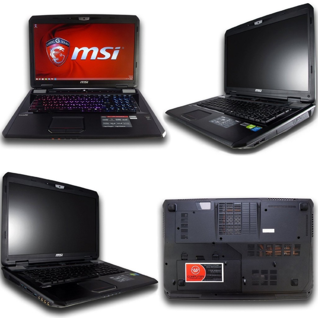 MSI GT70 Dominator-895 17.3 i7-4800MQ 16GB 1TB