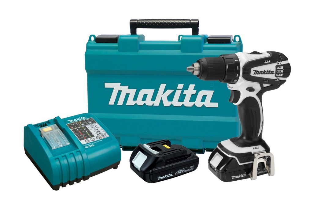Makita LXFD01CW 18Volt Compact Lithium-Ion Cordless Driver Drill Kit