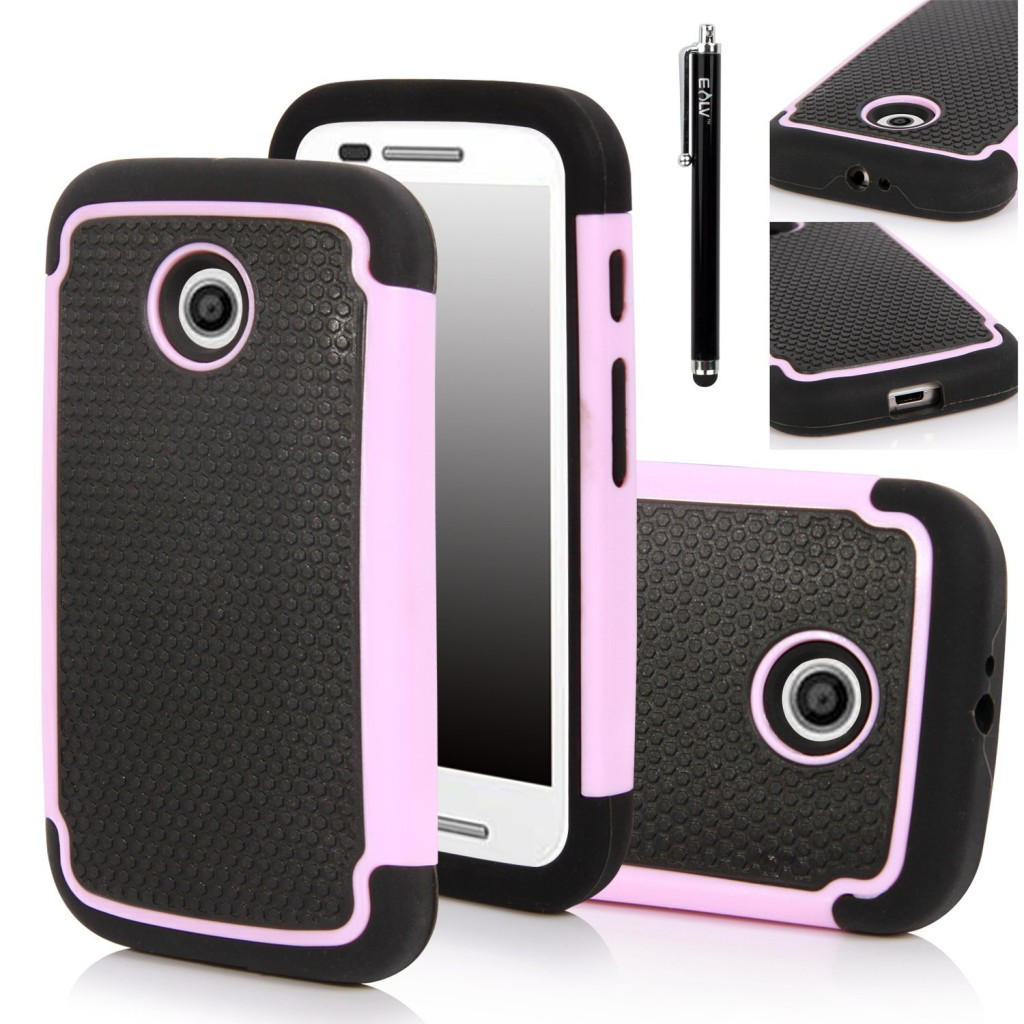 Moto E Case, Motorola E Case - E LV Motorola Moto E Case Cover Shock-Absorption