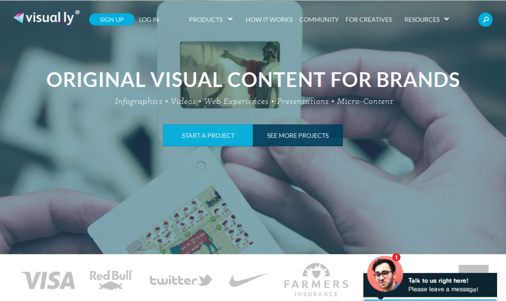 Original Content Marketing for Brands I Visual_ly