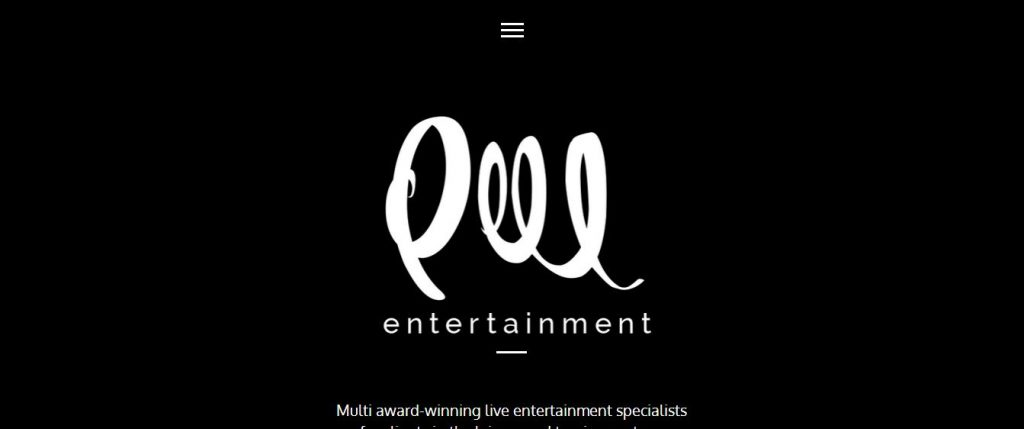 PEEL Entertainment - Award-Winning Live Entertainment video background