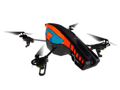 Parrot AR.Drone 2.0 Quadricopter Controlled by iPod touch, iPhone, iPad, and Android Devices