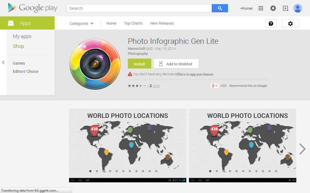 Photo Infographic Gen Lite - Android Apps on Google Play