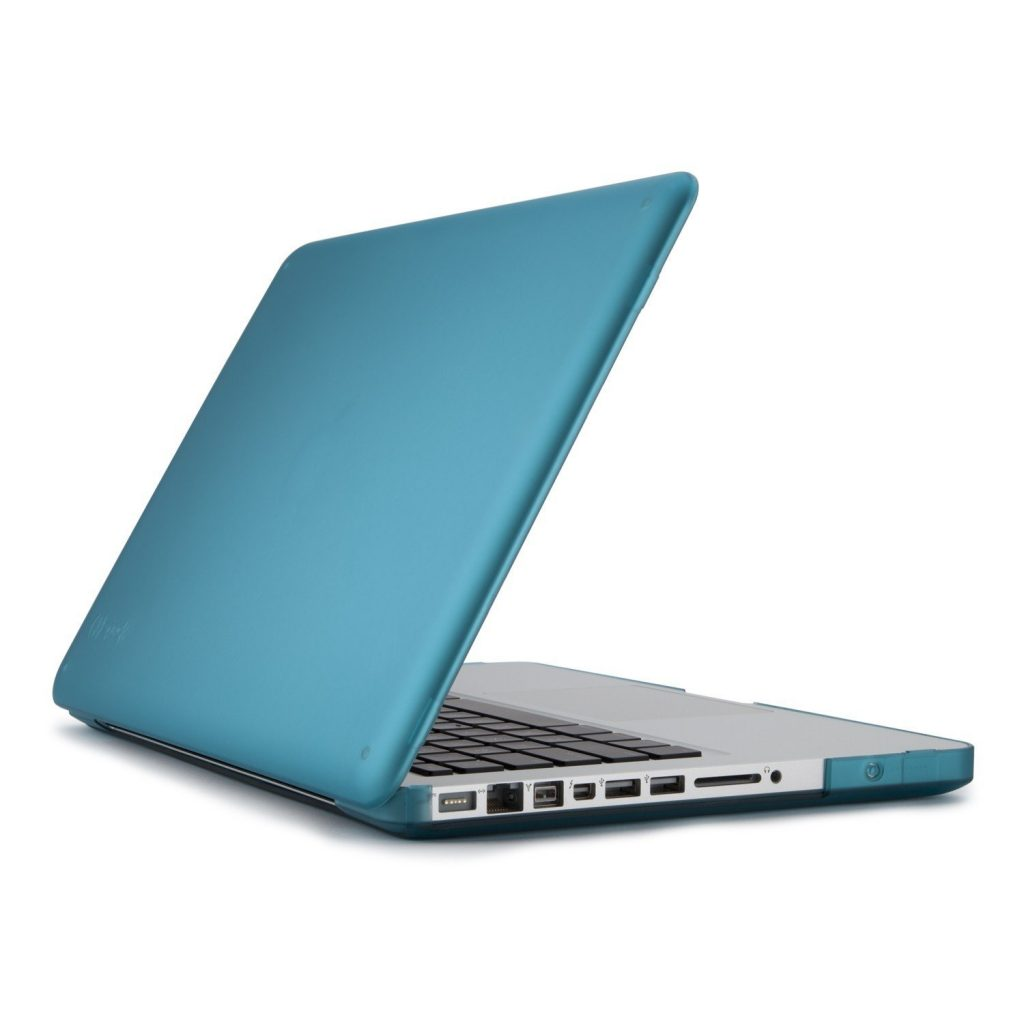 Speck Products SeeThru Satin Soft Touch, Hard Shell Case for MacBook Pro 13-Inch, Peacock Blue (SPK-A1176)