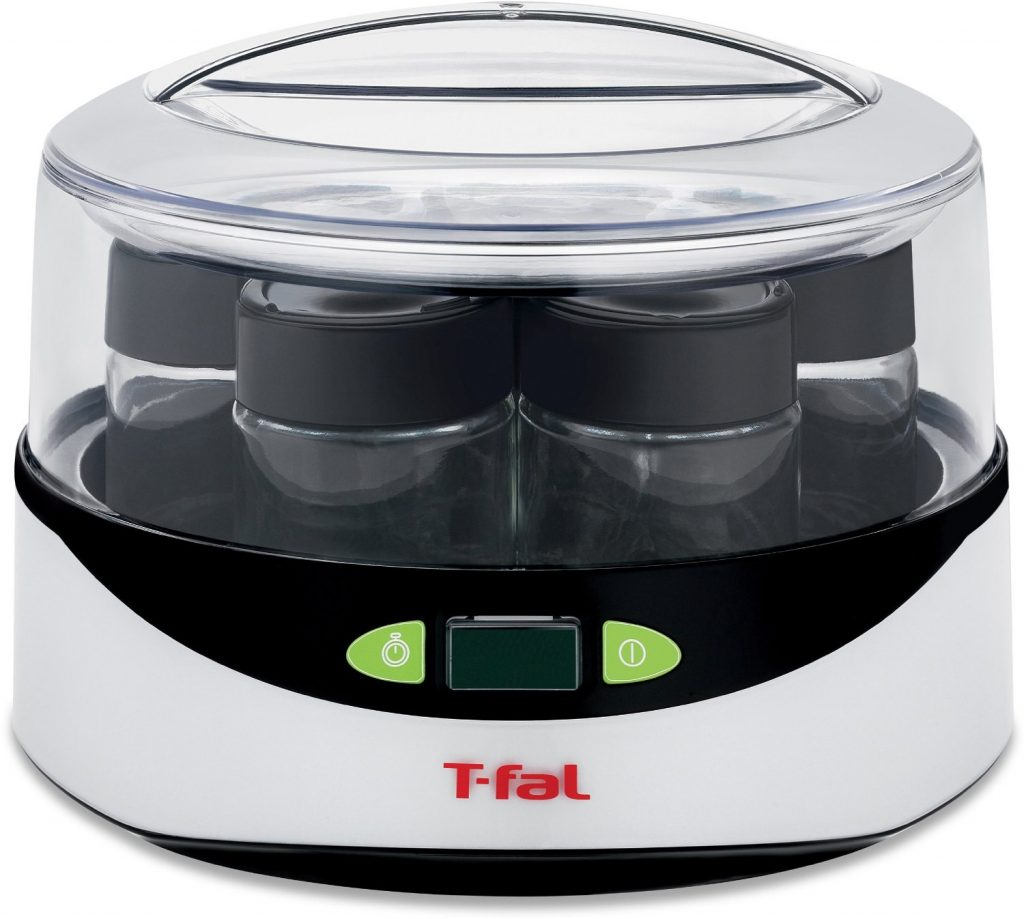 T-fal YG232 Balanced Living Yogurt Maker with LCD Timer, White