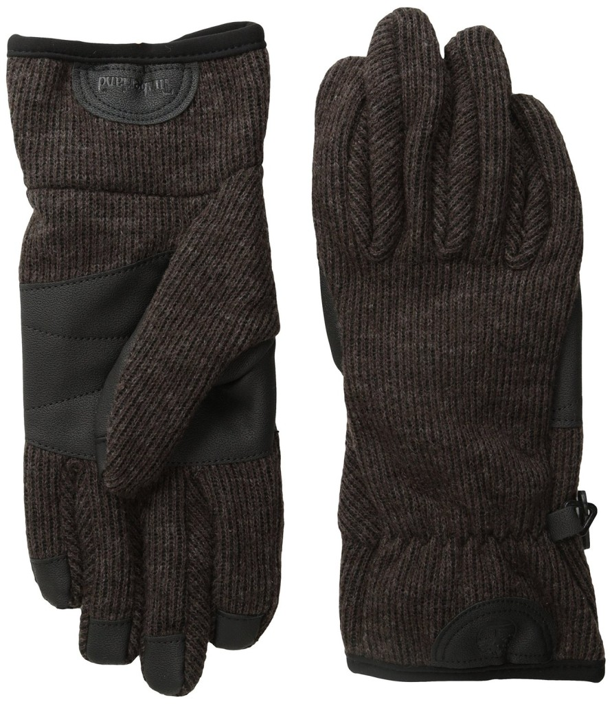 Timberland Men's Ribbed-Knit Wool-Blend Glove