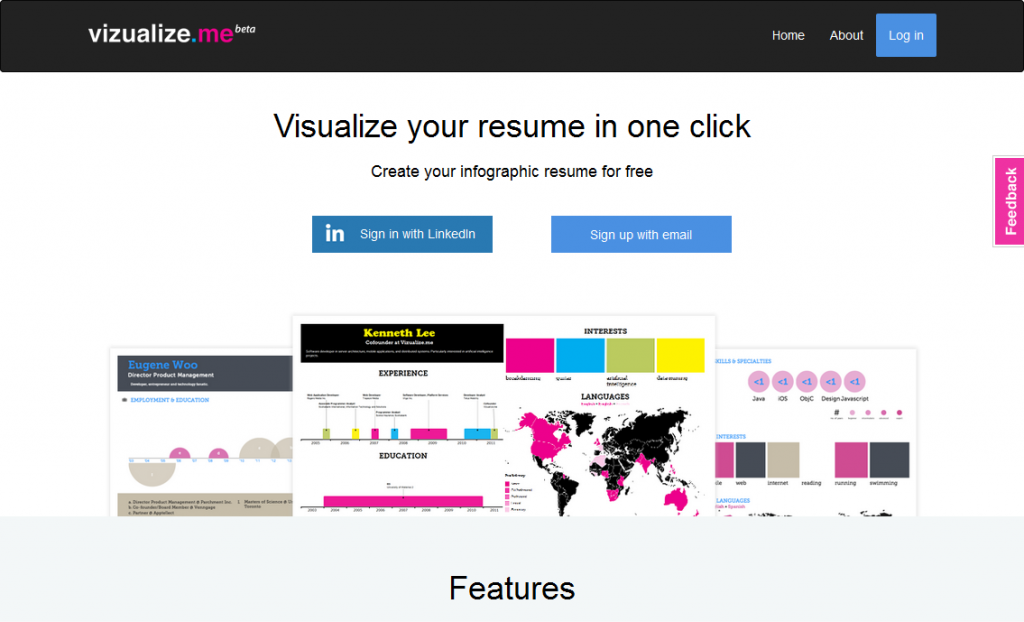 Vizualize_me_ Visualize your resume in one click