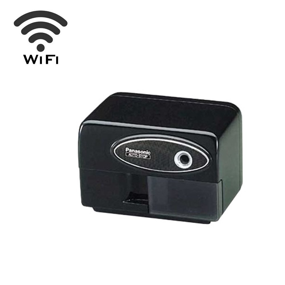 Wireless Spy Camera with WiFi Digital IP Signal, Recording & Remote Internet Access (Camera Hidden in Pencil Sharpener)