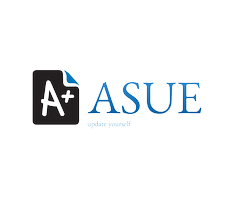 asue education logo design