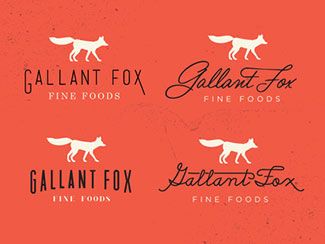 Gallant Fox Logo Concepts By Hoodzpah