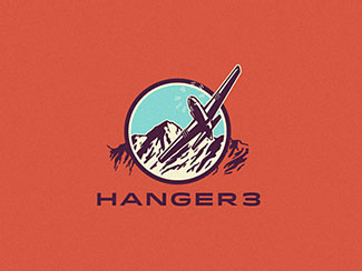 Logo concept for Hanger 3 By Emir Ayouni