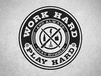 Work Hard, Play Hard By Hannah O'Neal