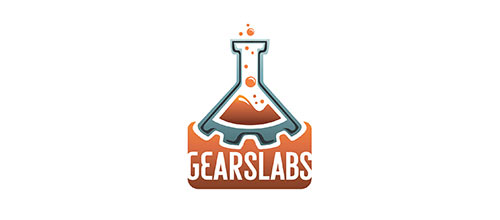 Gears Labs logo design examples