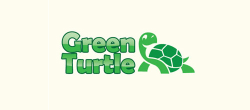 Green Turtle logo design ideas