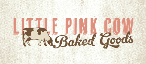 Little Pink Cow logo design examples