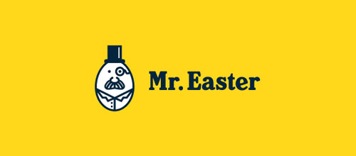 Mr. Easter logo design examples ideas