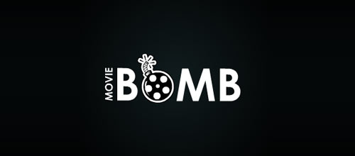 Movie Bomb logo design examples