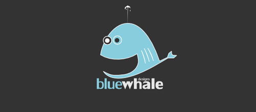 Blue Whale Designs logo design examples