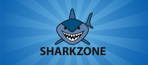 sharkzone logo design examples