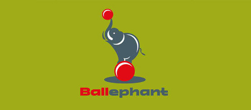 design Ballephant logo