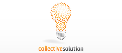 Collective Solution logo design examples