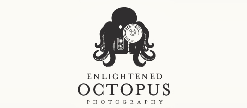 Enlightened Octopus logo design examples