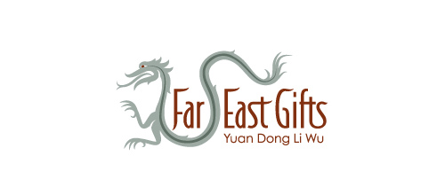 dragon logo design examples Far East Gifts