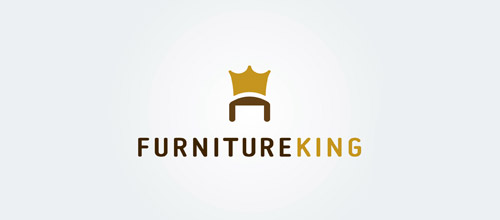 furniture logo designs examples king furniture logo design
