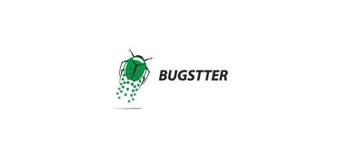 Bugstter logo design examples