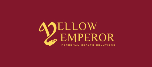 dragon logo design examples Yellow Emperor