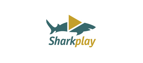Sharkplay logo design examples