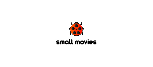 Small Movies logo design examples