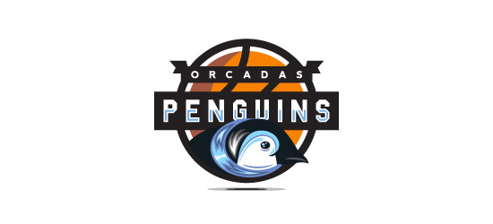 basketball logo design ideas penguins basketball logo design