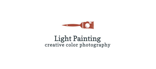 Brush Camera logo design examples