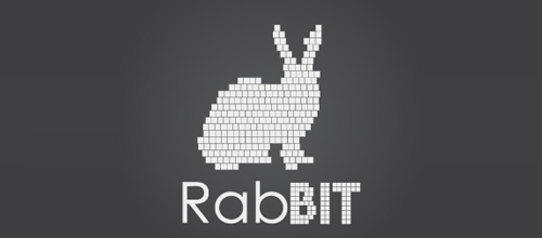 RabBIT logo design examples